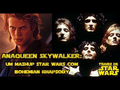 AnaQueen Skywalker: um mashup de Star Wars com Bohemian Rhapsody!