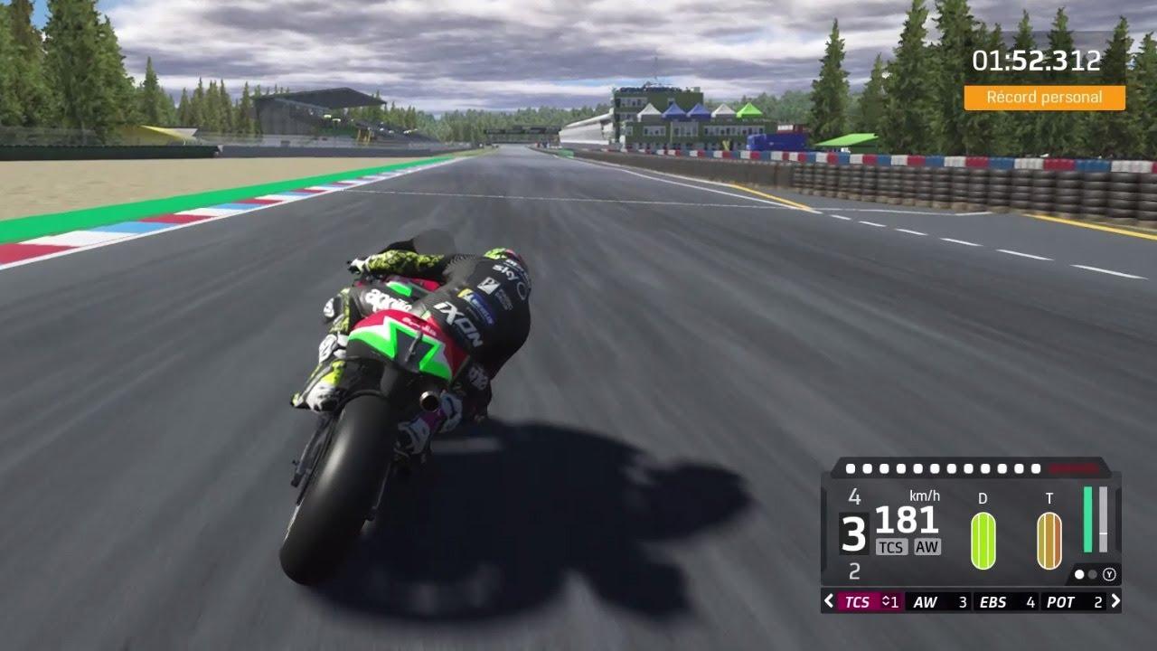 Brno circuit - virtual lap MotoGP20 video game
