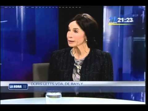 1 Doris Letts De Bayly Ciudadana Peruana Defensora De Las Mujeres Y Los No Nacidos Youtube Las hijas de jaime bayly reaccionaron ante la polémica columna que su padre escribió ayer en el diario peru21. 1 doris letts de bayly ciudadana