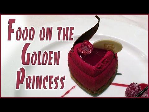 Golden Princess Food Slideshow
