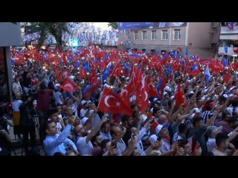 Erdogan hosts rally in home district ahead of Sunday election