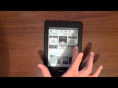 Amazon Kindle Paperwhite incelemesi
