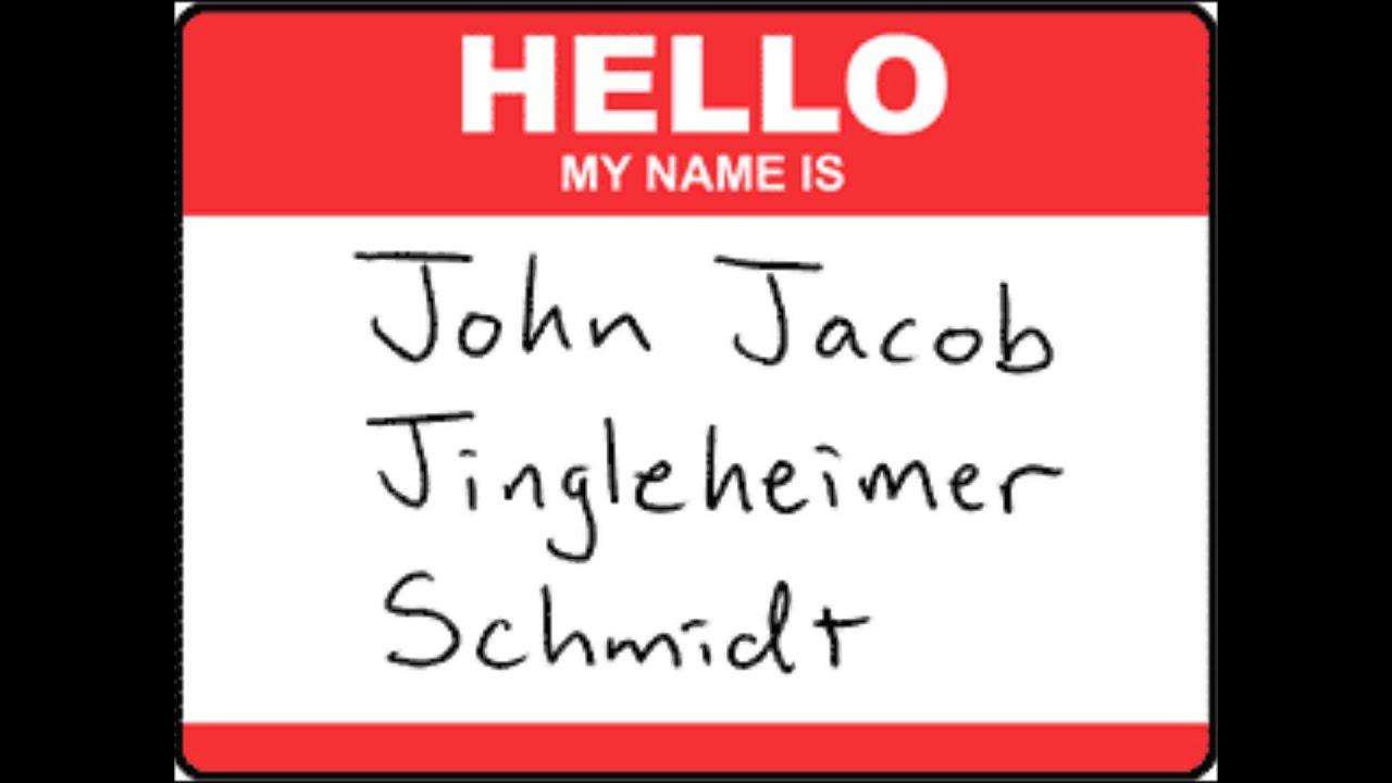 My Name Is Name: John Jacob Jingleheimer Schmidt (MIDI Instrumental)