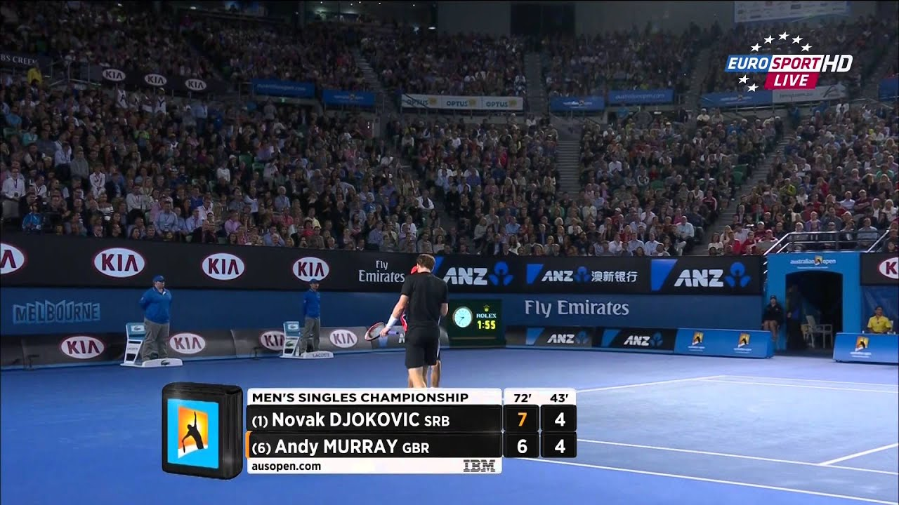 Novak Djokovic Vs Andy Murray Australian Open 2015 Final Full Match Full Hd Youtube