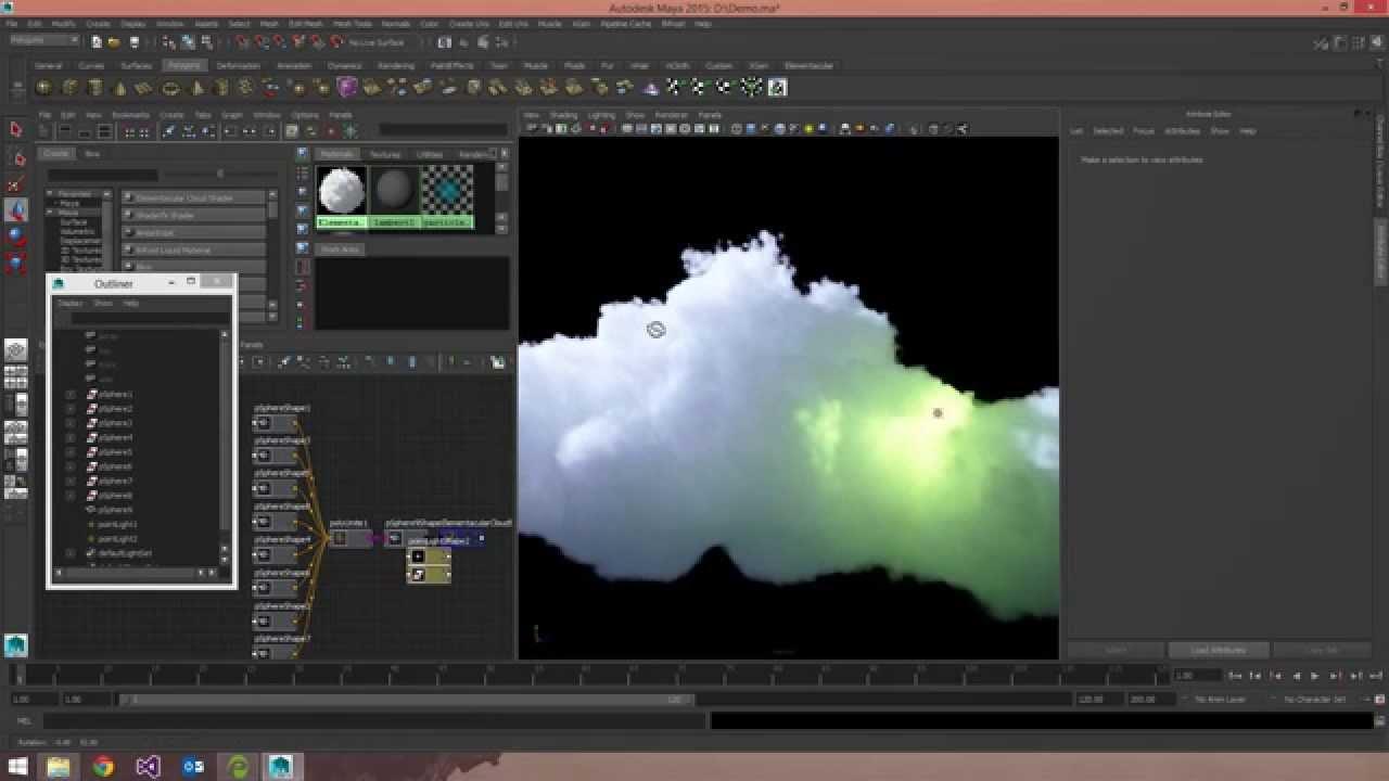 Volume Generator Plug-in for Maya Releases Newest Version | Pluralsight