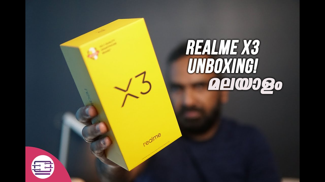 Realme X3 Unboxing Malayalam- SD855+, Quad Camera, 120Hz Refresh rate for Rs 24,999