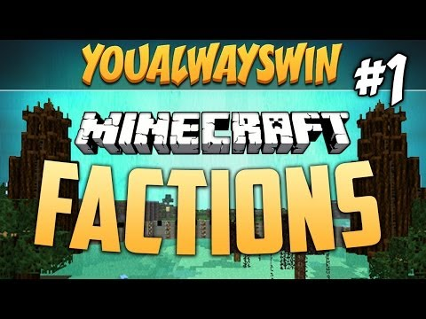 YAW MINECRAFT FACTIONS: w/Dumb and Dumber, Ep.1