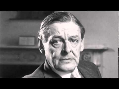 "T.S. Eliot Recites ""The Hollow Men"""