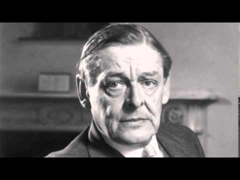 """T.S. Eliot Recites """"The Hollow Men"""""""