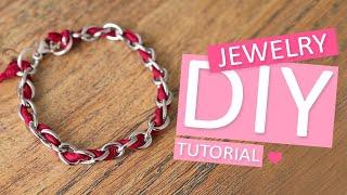 DIY Tutorial – armbanden met Griffin en jasseron - Zelf sieraden maken
