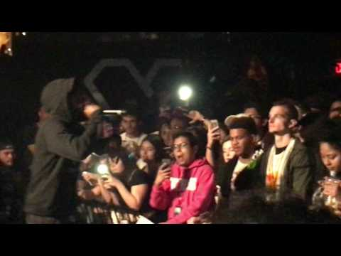 Isaiah Rashad - Stuck In The Mud (Live at Heart Nightclub in Miami of Lil Sunny Tour on 2/10/2017)