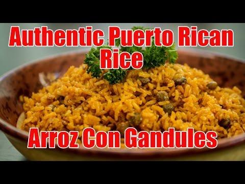 Authentic Puerto Rican Rice/Arroz Con Gandules Recipe | Episode 6