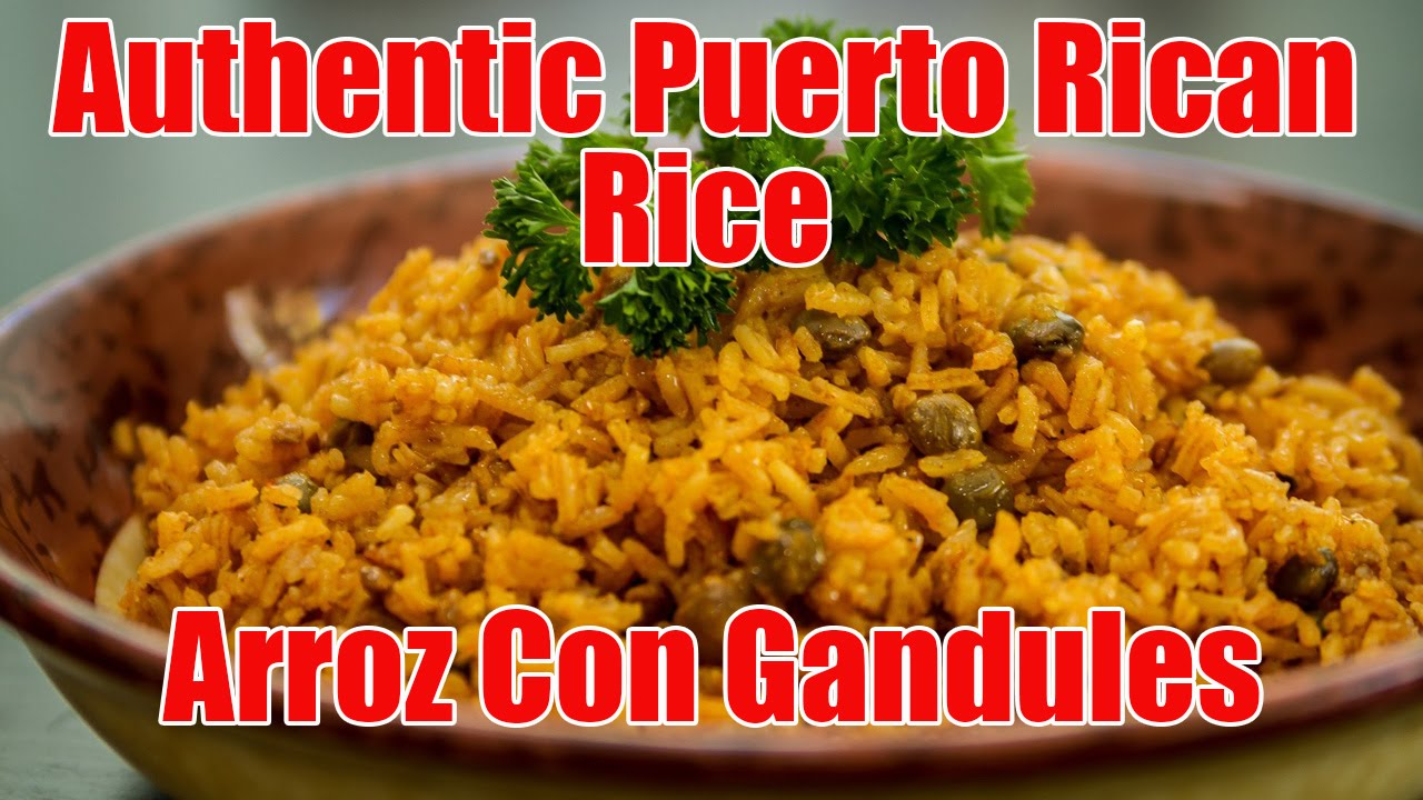 Authentic puerto rican ricearroz con gandules recipe episode 6 authentic puerto rican ricearroz con gandules recipe episode 6 youtube forumfinder Images