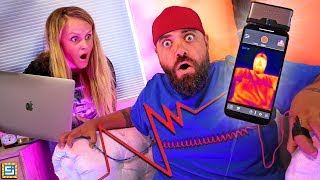 My Wife Found Out My BIG SECRET!! Lie Detector Challenge!