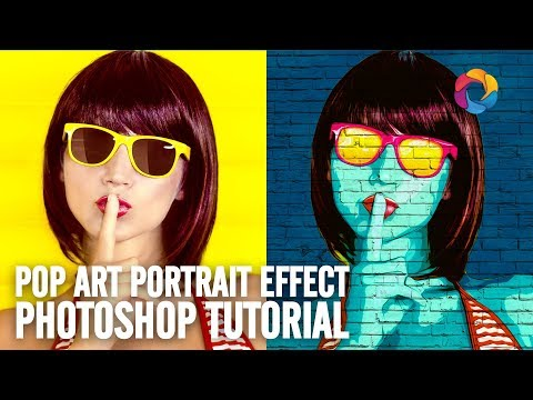 Pop Art Photoshop Effect DEMO + Free PSD