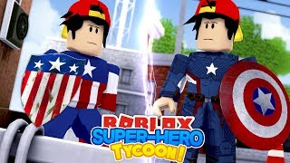 ROBLOX Adventure - CAPTAIN AMERICA, OLD vs NEW!!