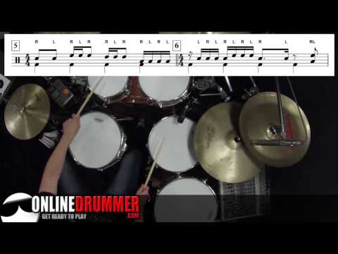 Drum Lesson - Starter Drum Beats and Fills