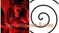 Teufelsspirale Ritual! Jemand war anwesend!