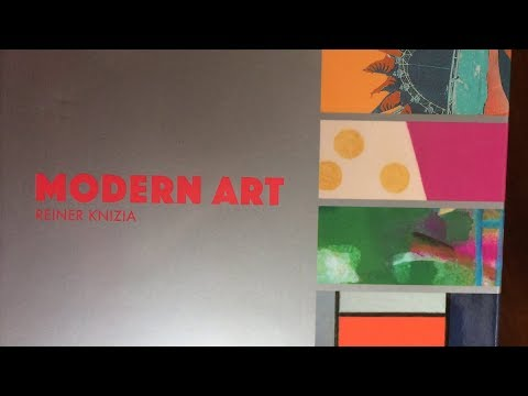 [quick unboxing] Modern Art (Oink Games edition)