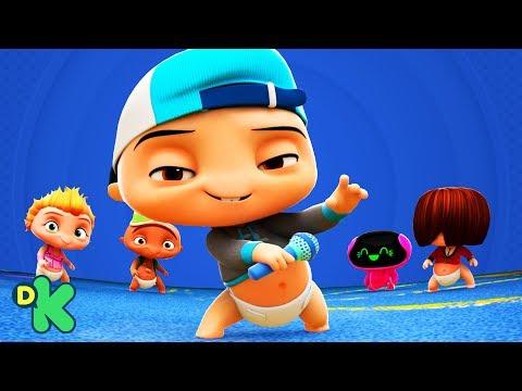 #QuédateEnCasa y baila #Conmigo el beat! | Mini Beat Power Rockers | Discovery Kids
