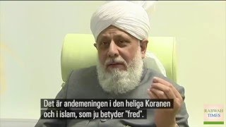Khalifa of Islam Ahmadiyya visits Sweden to open new Mosque in the city of Malmö