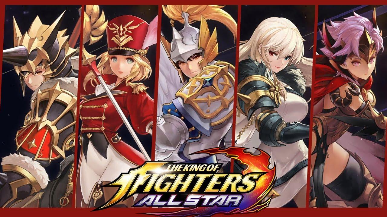 KOF: ALLSTAR X SEVEN KNIGHTS - All Character ReveaLs!
