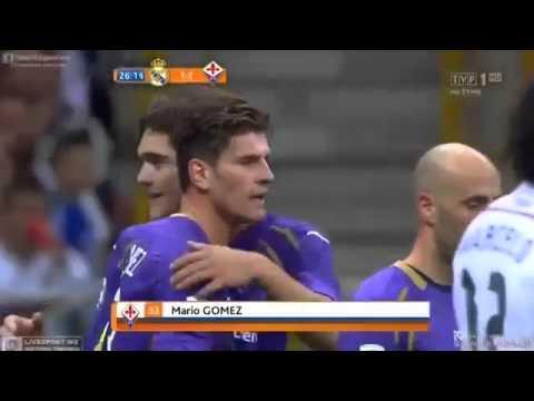 Real Madrid vs Fiorentina 1 2 Tüm goller ve pozisyonlar HD 2014