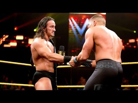 Tyler Breeze VS Enzo Amore - المصارعة 2014 يوتيوب - لعب مصارعة حرة