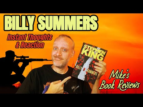 Billy Summers by Stephen King Spoiler-Free Book Review