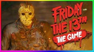 FRIDAY THE 13TH GAME BETA GAMEPLAY! (Jason Gameplay)
