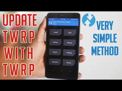 How To Update TWRP Recovery With TWRP Recovery!