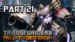 Transformers Fall of Cybertron Walkthrough - Part 21 [Chapter 10] Final Countdown Let's Play PC