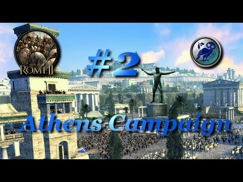 Total War: Rome II-Athens Campaign #2~The End of Epirus!