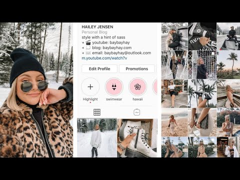 HOW TO HAVE AN AESTHETIC INSTAGRAM FEED