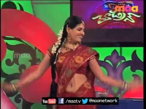 ETV Abhishekam Serial Fame Sanjana Patro navel show thumbnail
