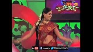 ETV Abhishekam Serial Fame Sanjana Patro navel show