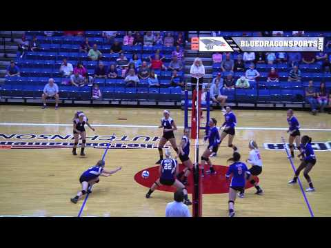 VOLLEYBALL - Hutchinson Community College vsButler CC - Highlights - 09.10.2014