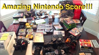 Live Garage Sale Pickups #21 - My Best Score of All-Time??? N64, SNES, Gamecube, Pokemon