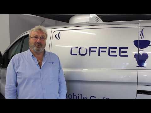 Mobile Coffee Van Walkaround - Coffee Blue