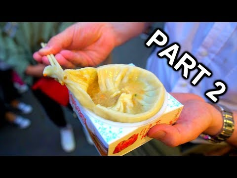 HARBIN NIGHTMARKET, CHINA (Part 2) | Chinese muslim food | Chinese seafood | 哈尔滨  师大夜市