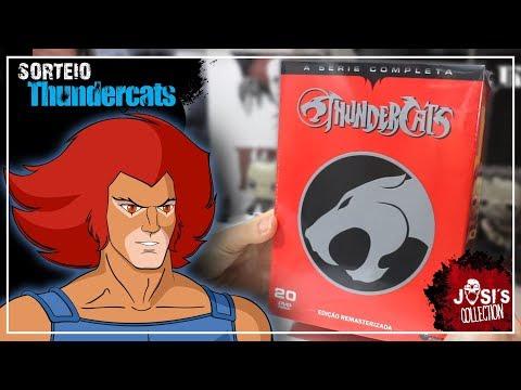 [Unboxing] Thundercats Completo + Sorteio