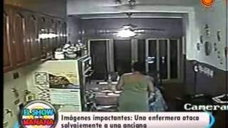 anciana golpeada salvajemente 16 01 2014