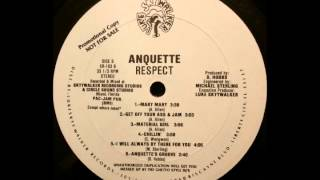 Anquette - Get Off Your Ass and Jam (Luke Skyywalker Records)