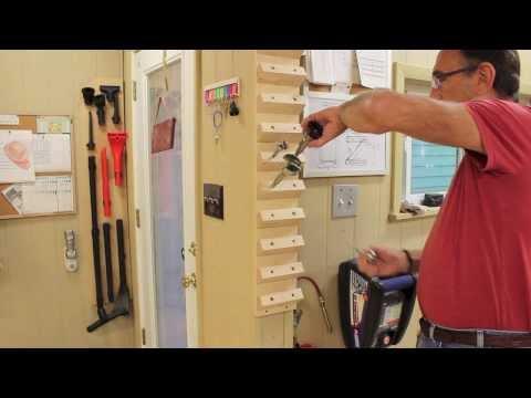 Drill Bit Storage - One Board, Quick & Easy