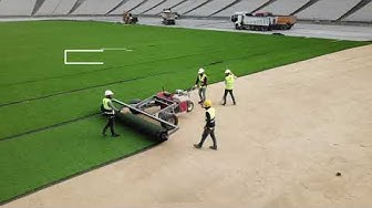 Hybridgrass Implementation for the 2020 UEFA Champions League Final