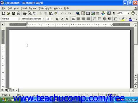 MICROSOFT WORD 2003 TUTORIAL DOWNLOAD
