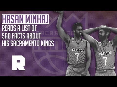 Hasan Minhaj Reads A List of Sad Facts About the Sacramento Kings | The Ringer