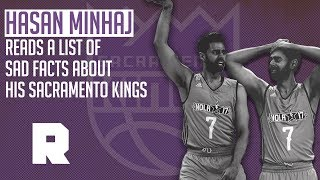 Hasan Minhaj Reads Sad Facts About the Sacramento Kings | The Ringer