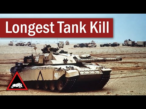 The Longest Recorded Tank-on-Tank Hit | February 1991 from YouTube · Duration:  6 minutes 39 seconds