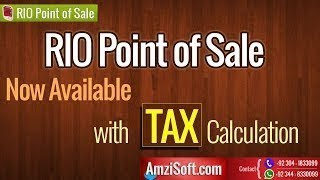 """Rio """"point of sale"""" with tax v3.8.0.5.0 ..."""